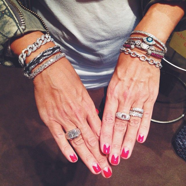 Arm candy spotted at Barneys | Theodoros Jewelry | Diamonds | Visual Therapy Blog