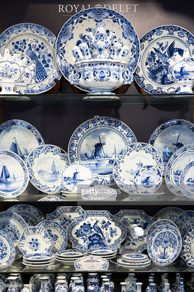 Latest Collection Of Delft Blue Dutch Milk Maid Hand Painted Beautiful And Charming Art Pottery