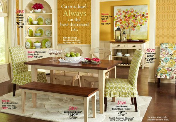 In The New Pier One Catalog Wall Amp Furniture Stencils