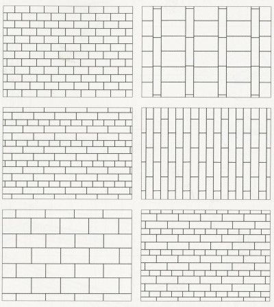 Subway Tile Pattern Ideas subway patterns that are interesting | design ideas | pinterest