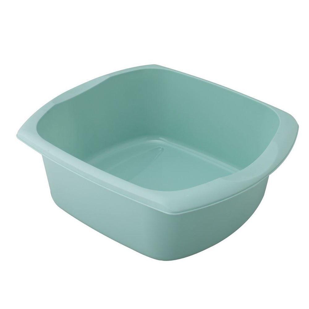 Genial Addis Plastic Large Rectangular Duck Egg Blue Washing Up Sink Bowl Basin