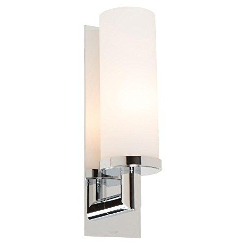 Ginger Light Up Lighting Wall Sconce Polished Chrome - Ginger bathroom lighting
