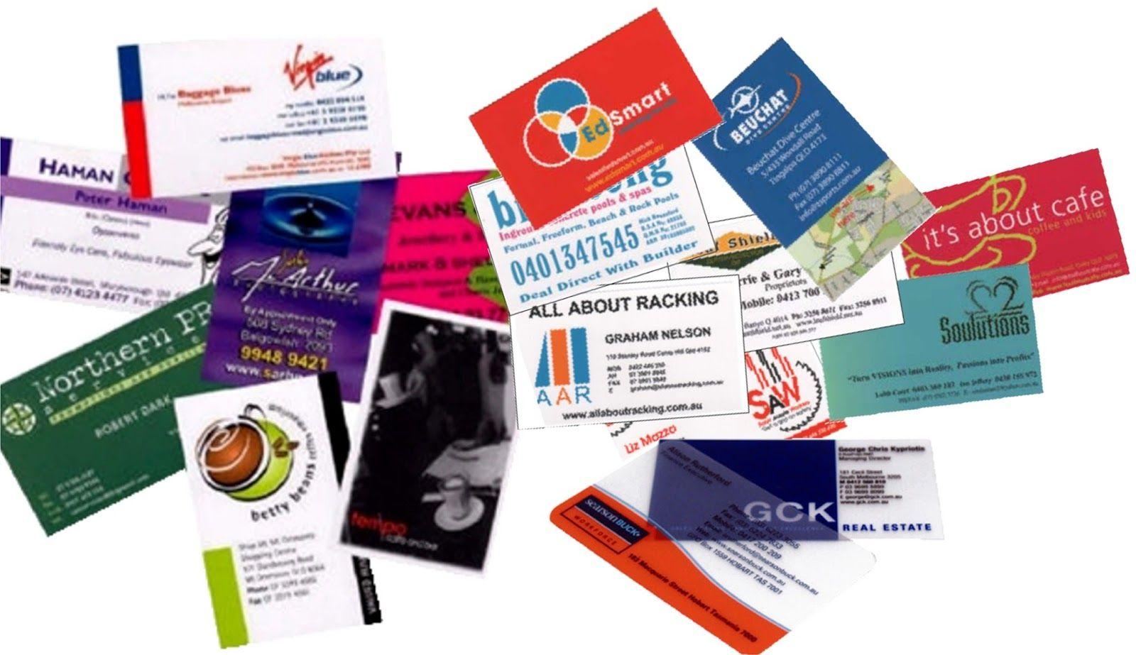 Drucken Sie Visitenkarten Print Visitenkarten Brisbane Mit