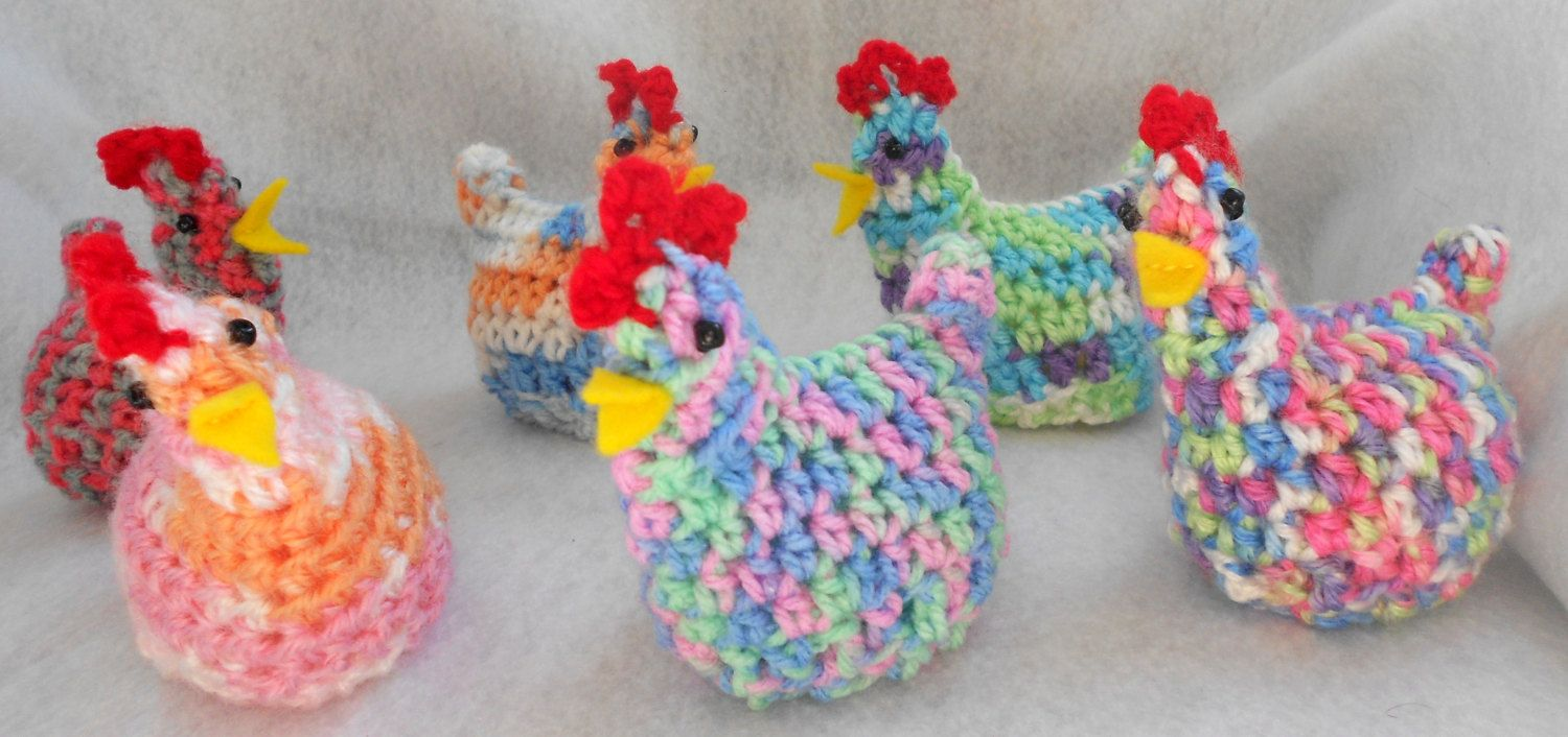 A flock of Easter chicks  One cute little by ChesapeakeCrochet, $4.00
