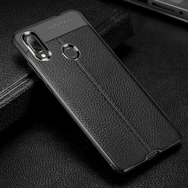 Leather Pattern Shockproof Case For Xiaomi Redmi Note 7 Note 7 Pro Leather Pattern Note 7 Case