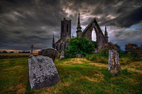 Ancient Ruins, Ireland photo via destroyed
