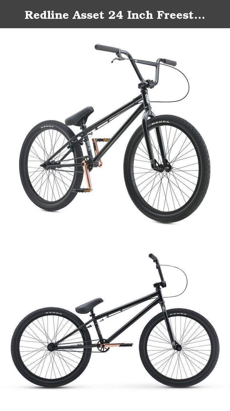 Redline Asset 24 Inch Freestyle Bmx Bike Back In Black The Asset