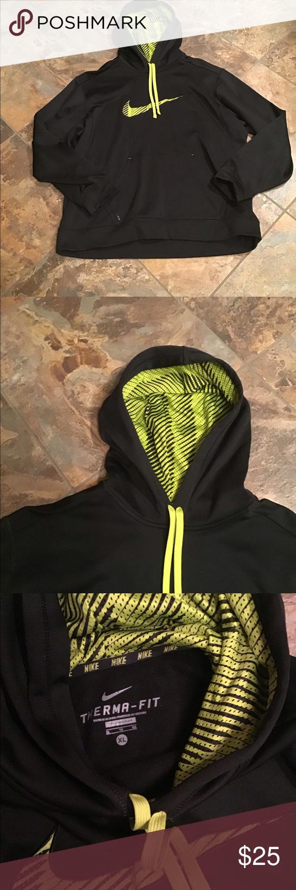 Nike Therma Fit Hooded Sweatshirt Hooded Sweatshirts Sweatshirts Sweatshirt Shirt [ 1740 x 580 Pixel ]