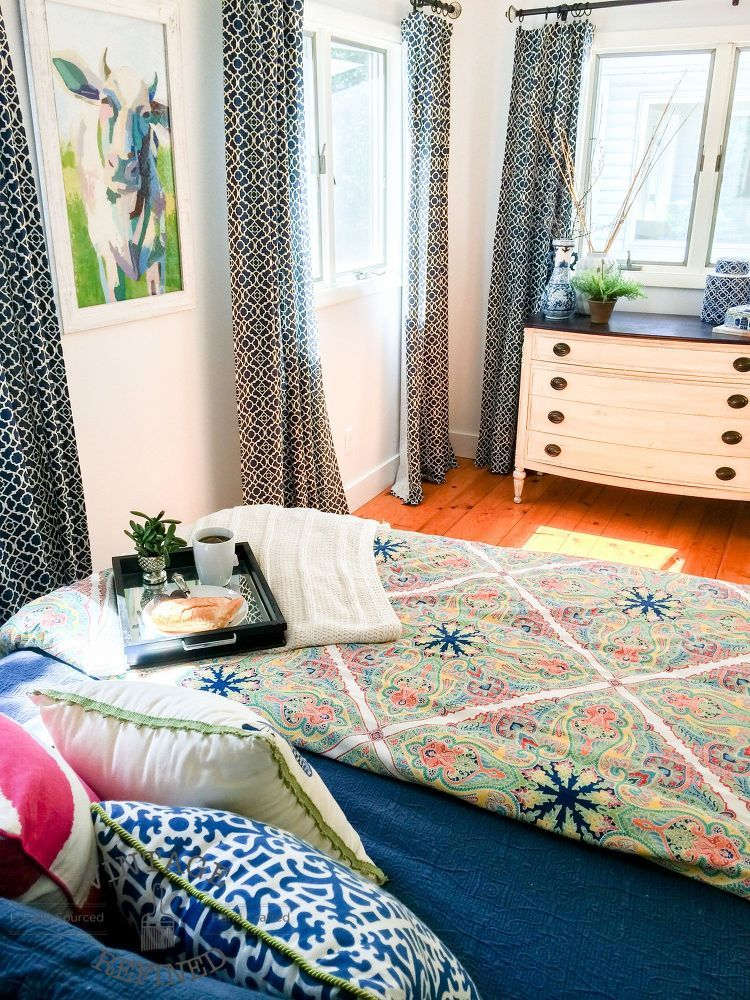 Cheerful Bedroom Makeover Cheerful Bedroom Makeover