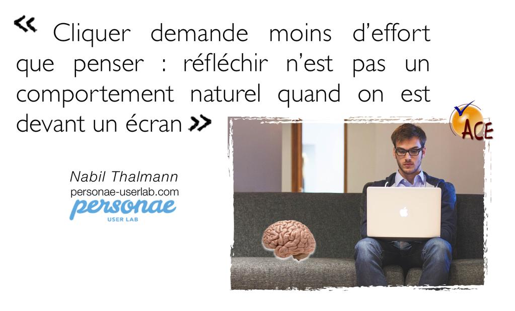 Tellement d'accord ! :) - l'#UXDesign de @nabilthalmann mis en forme par @julienchardron #WCD15 #Angers #webmarketing