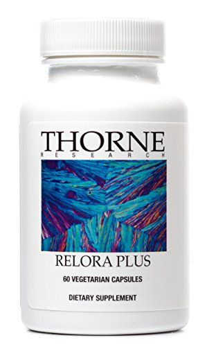 Thorne Research - Relora Plus - Proprietary Blend of Plant Extracts with B Vitamins - 60 Vegetarian Capsules *** Be sure to check out this awesome product.
