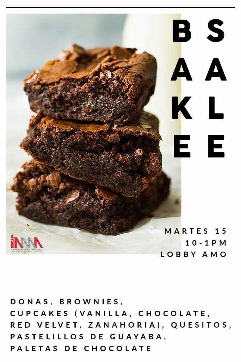 Si quieres tener una experiencia fuera de este mundo, llega al Bake Sale de la AMA mañana martes, 15 de noviembre a las 10:00AM.