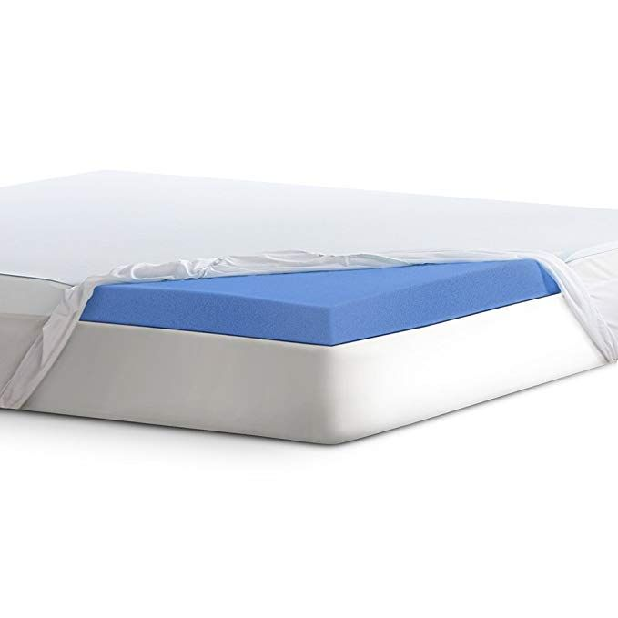 Serta 3lasting Dream Plus Gel Infused Memory Foam Mattress Topper Full Review Foam Mattress Topper Memory Foam Mattress Memory Foam Mattress Topper