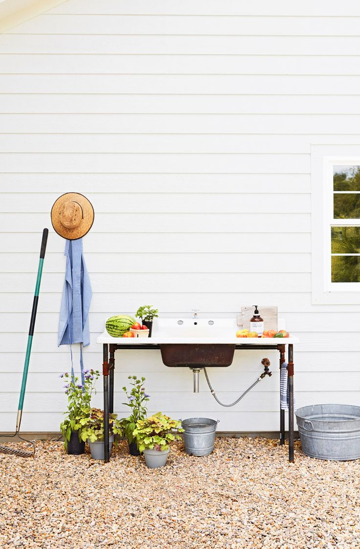 Image Result For Outdoor Utility Sink No Plumbing Required