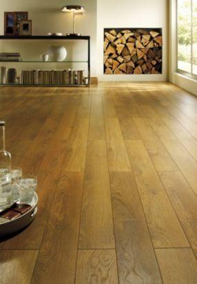 Colours Collaris Caramel Herlech Oak Effect Laminate Flooring, B&Q