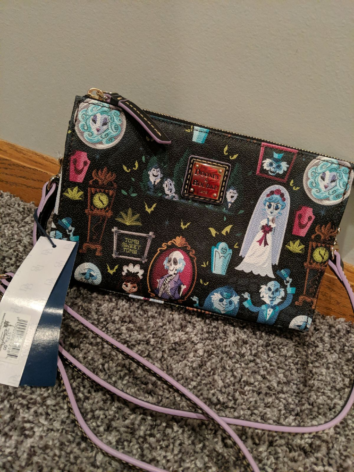 This Is A Brand New From The Park Dooney And Bourke Cross Body Haunted Mansion Bag It Is So Cute I Just Never Used It So Dooney Bourke Disney Dooney