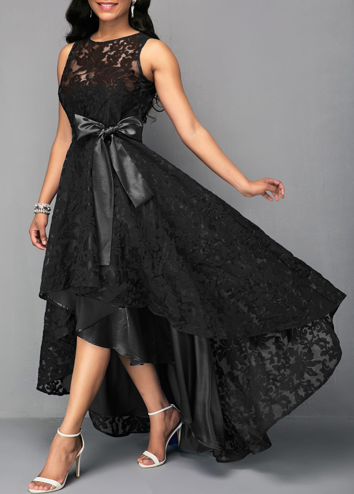 32+ High low lace dress information
