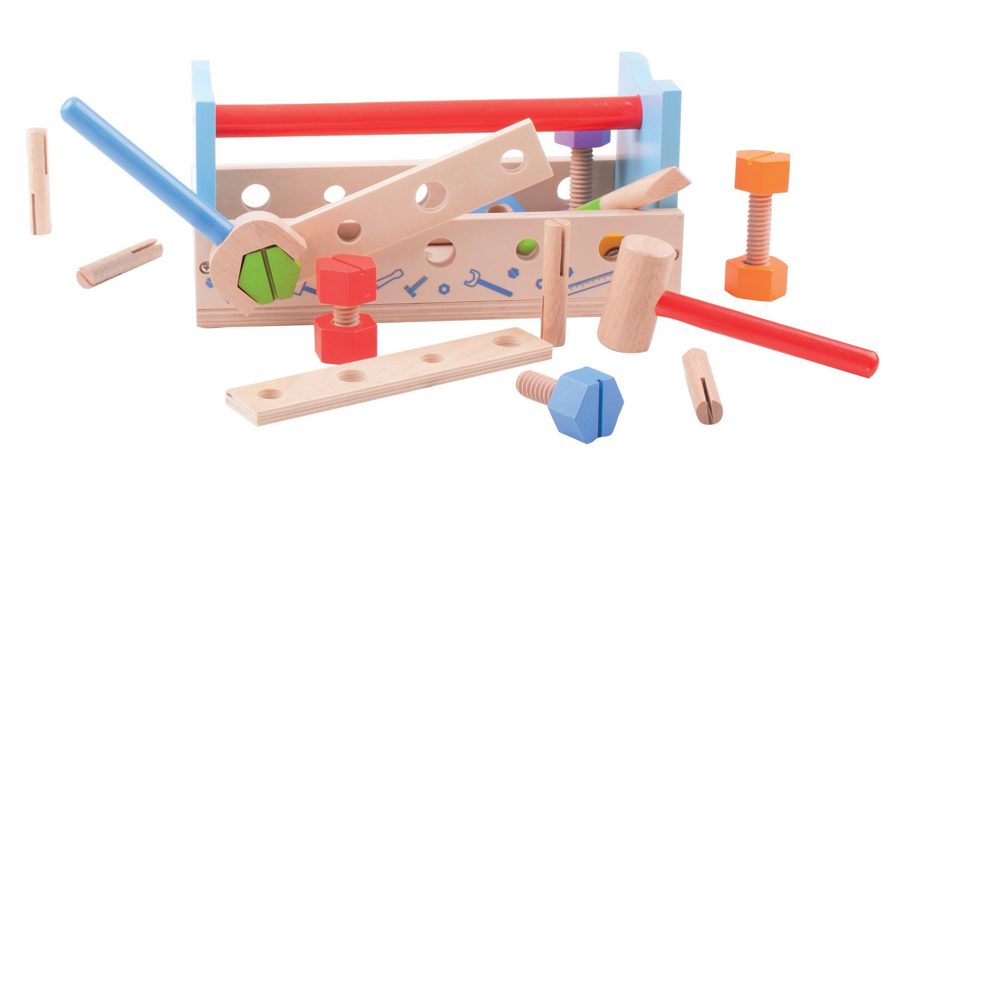 Bigjigs Toys My Workbench Wooden Role Play Toy   Role play and Products