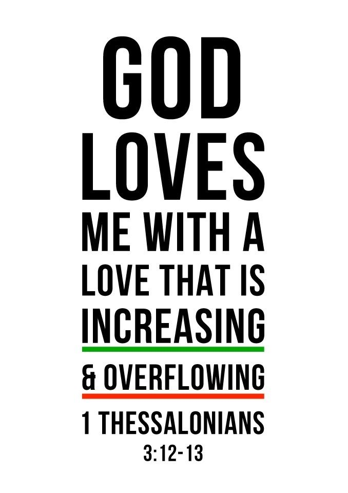 1 Thessalonians 3:12-13. Increasing and overflowing