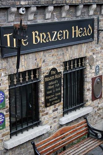 The Brazen Head is the oldest pub in Dublin.