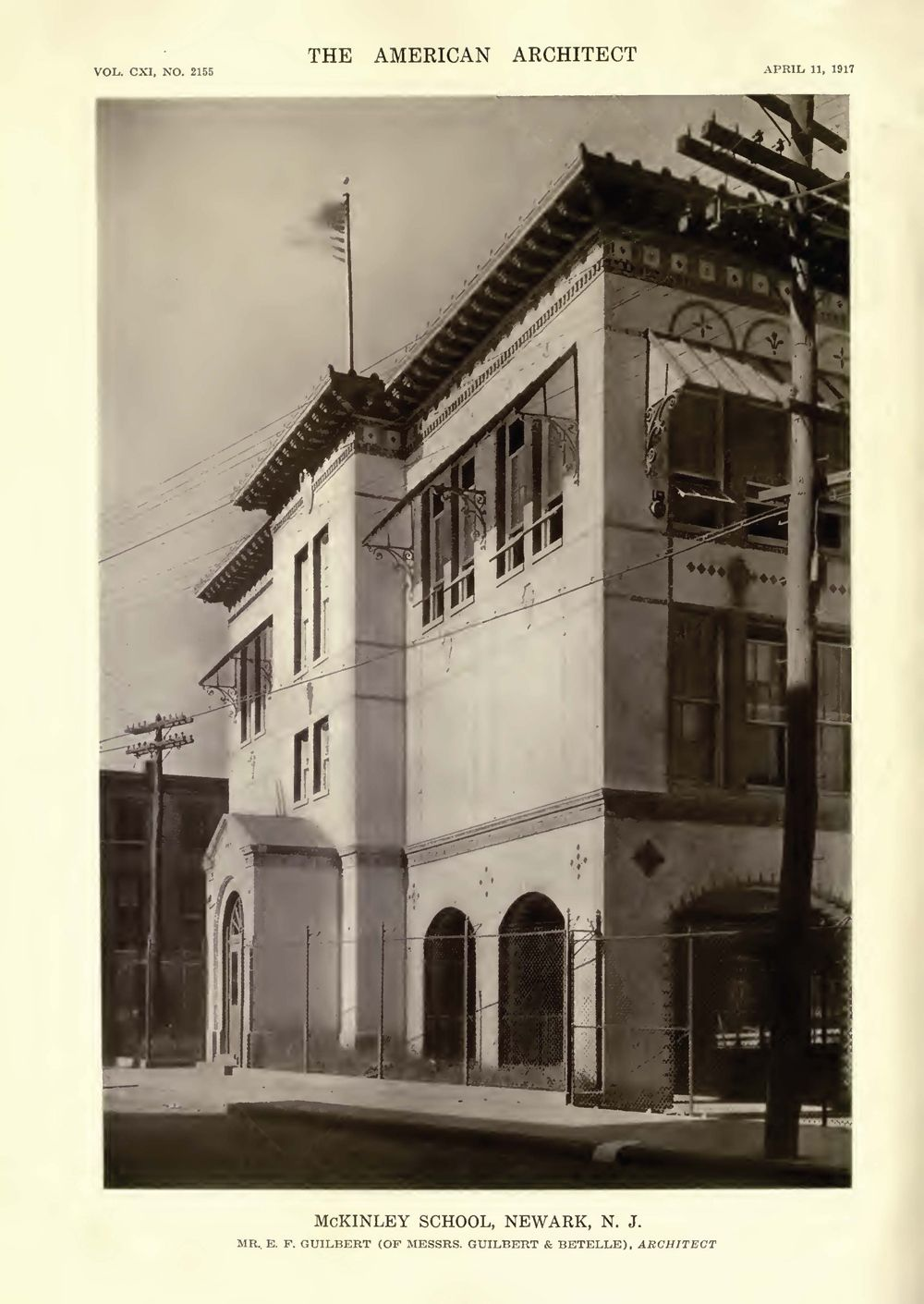 the american architect guilbert and betelle old photos of