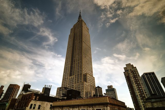 the Empire State Building by mudpig, via Flickr