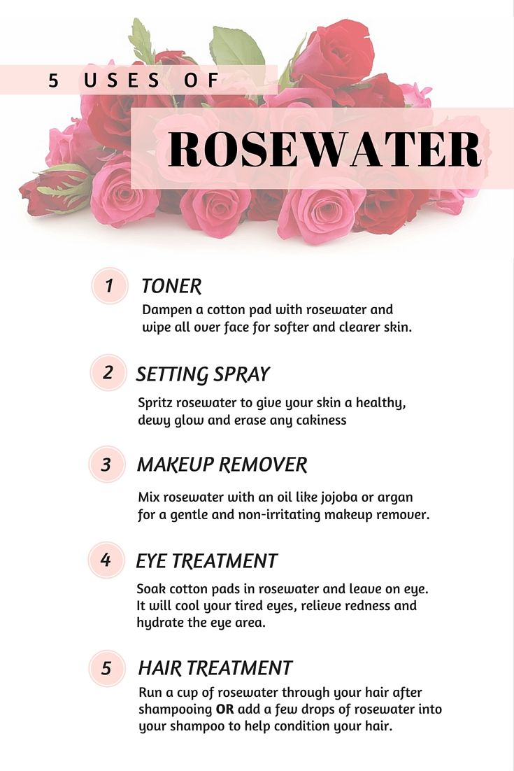 Beauty Ingredient Rosewater - Find out how to use it in your