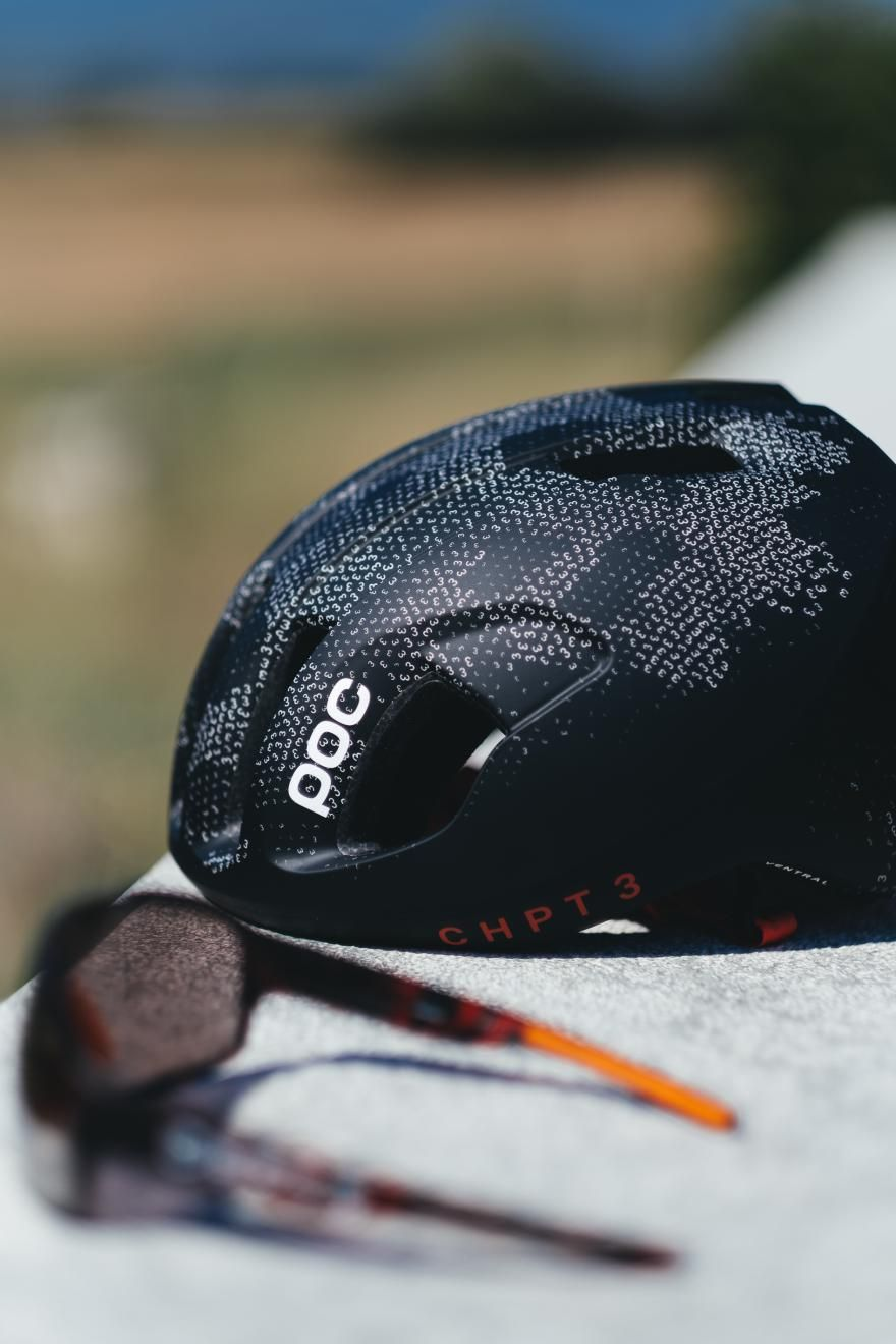 1f2f37e5d7 David Millar s CHPT3 and Swedish helmet and apparel brand POC have teamed up  for a special version of the Ventral SPIN helmet and new eyewear