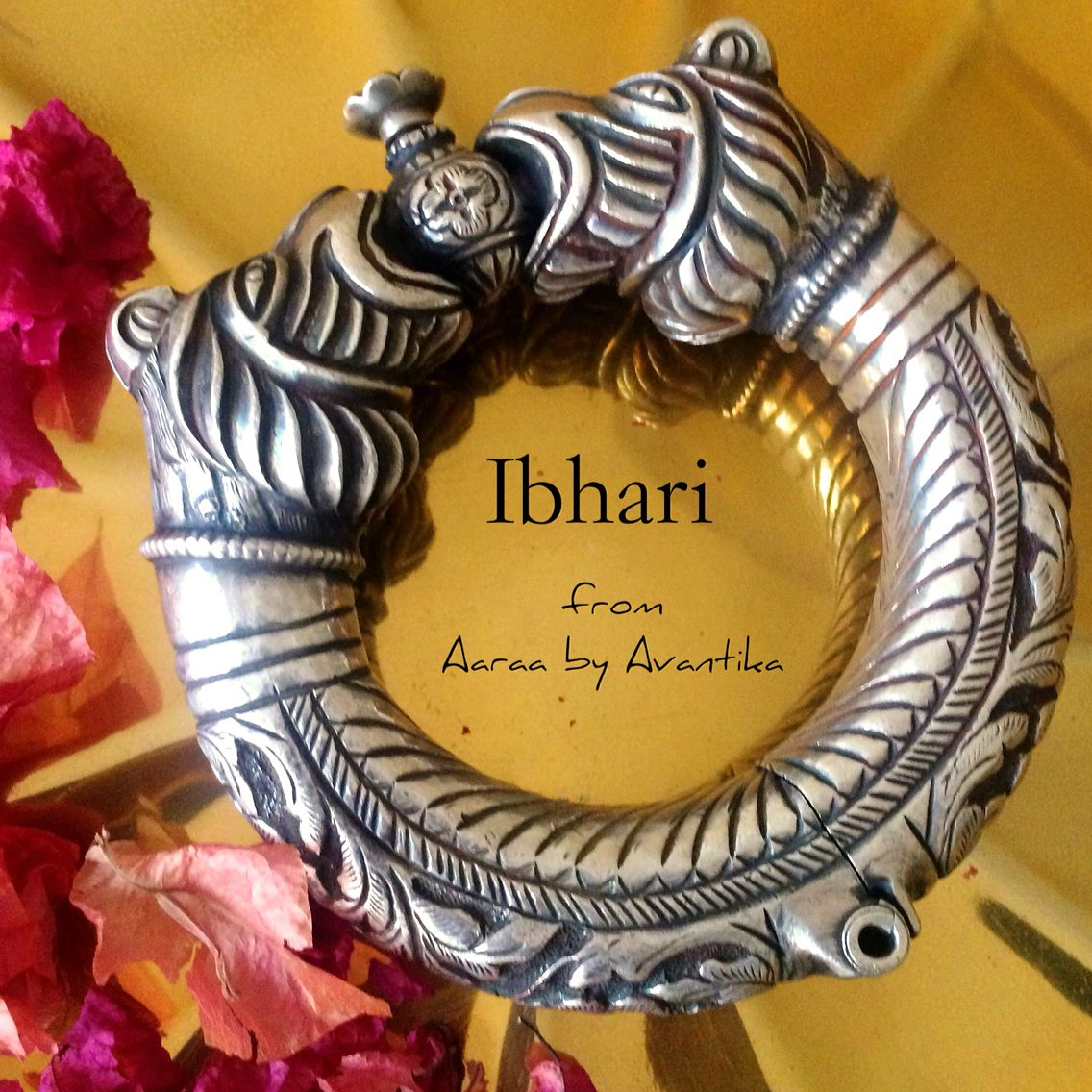 Ibhari Means Lion In Sanskrit A Dauntless Piece Of Adornment From Aaraa By Avantika For The Lion Hearted German Jewelry India Jewelry Silver