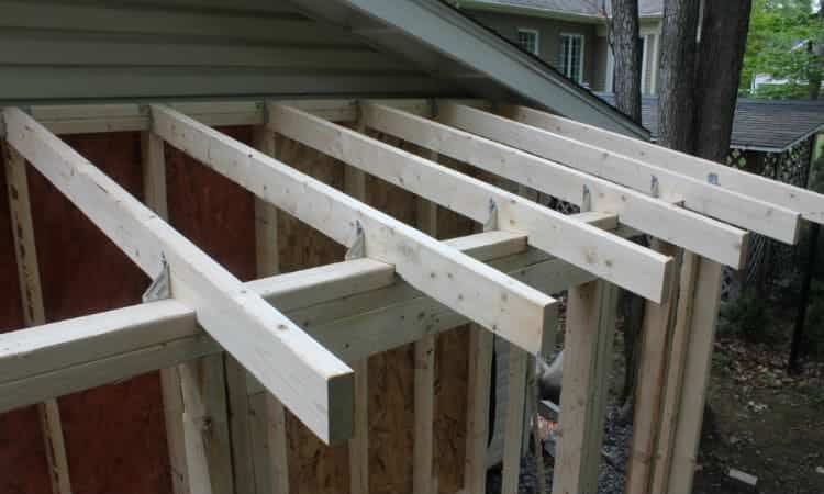 How to build a lean to shed stepbystep guide