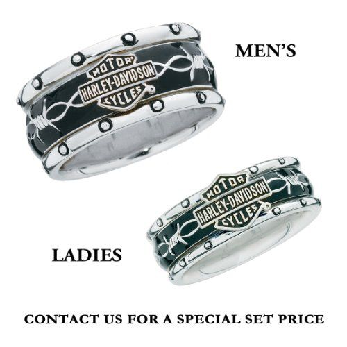 sterling silver harley davidson mens rumble roll ring httpbikeraa - Harley Wedding Rings