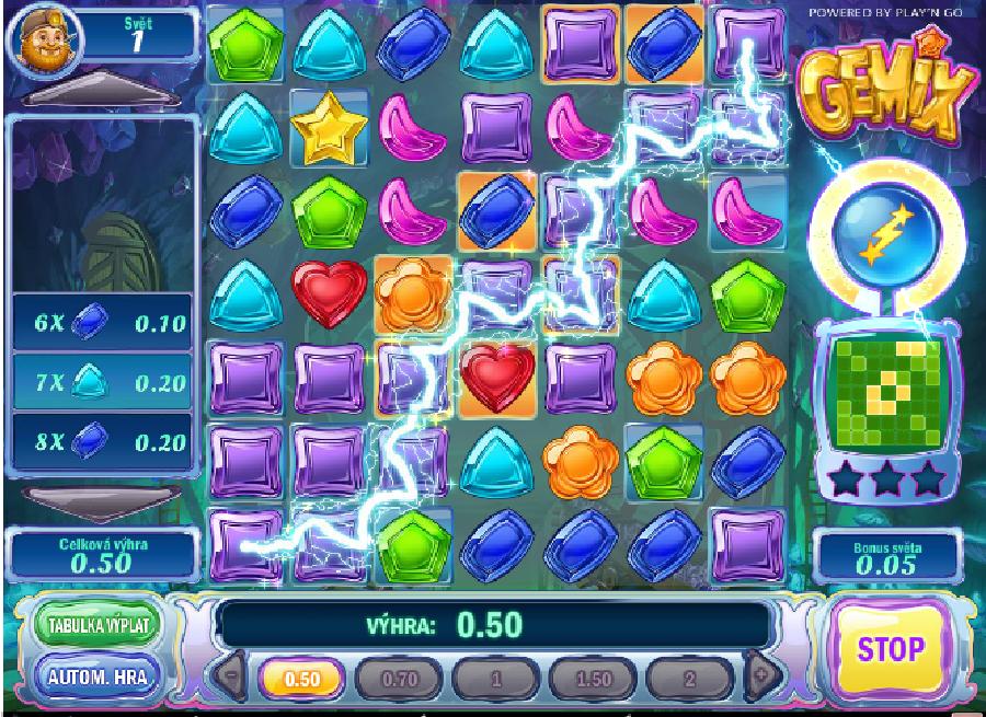Výherné automatové hry Gemix - Výherné automatové hry Gemix nie sú obyčajnou automatovou hrou, je to naopak. Spoločnosť Play'n GO túto hru vytvorila kvôli oživeniu. #HracieAutomaty #VyherneAutomaty #Jackpot #Vyhra #Gemix - http://www.hracie-automaty.co/sloty/vyherne-automatove-hry-gemix