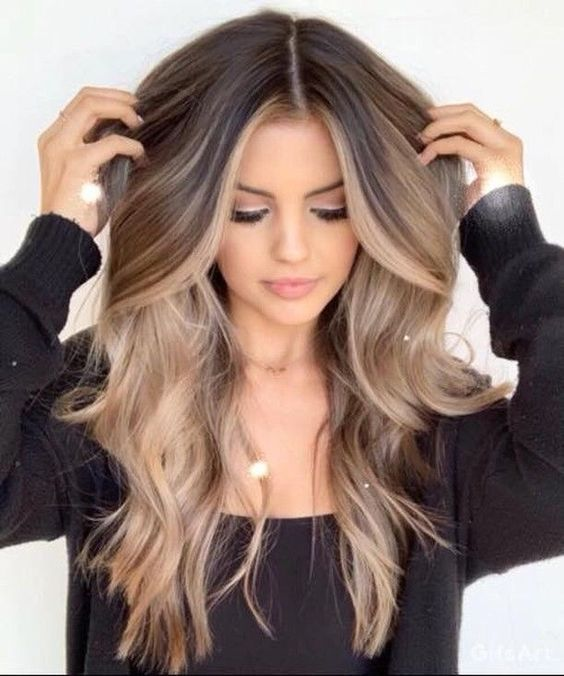 6 Delicate Two Tone Hair Color Ideas For Brunettes For 2019 Have A Look Hair Styles Long Hair Styles Hair Color Balayage