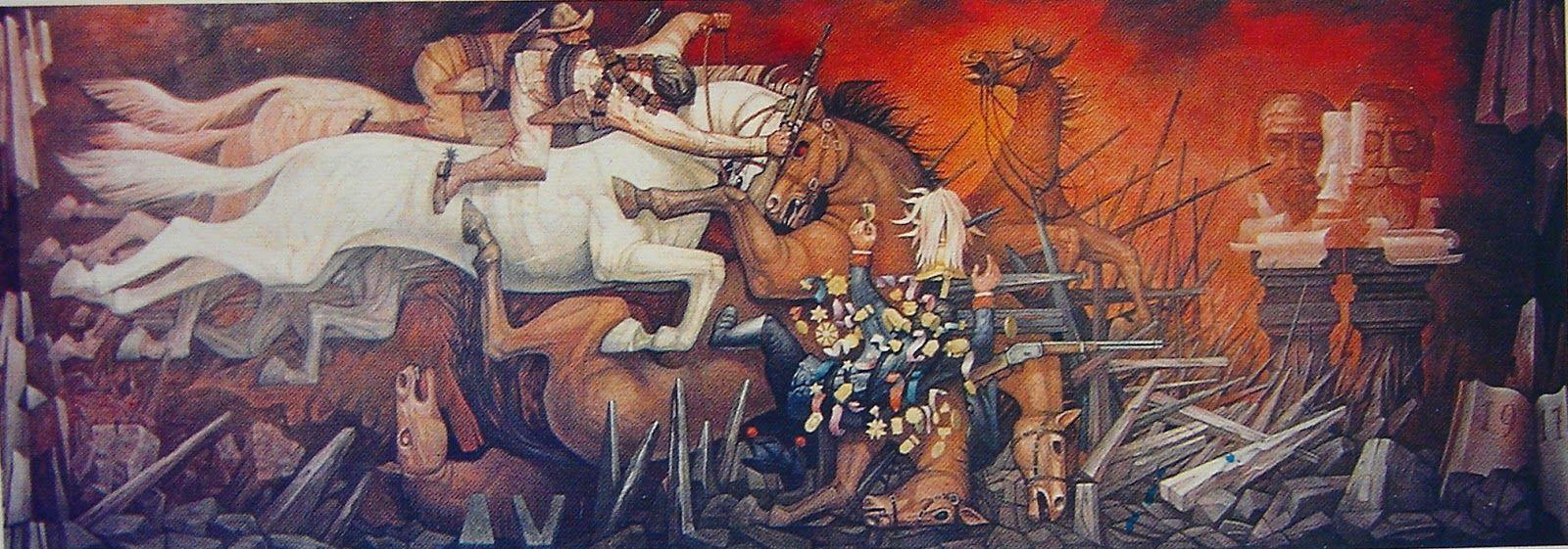 Jorge gonz lez camarena partido del trabajo zacatecas for Arte mural mexicano