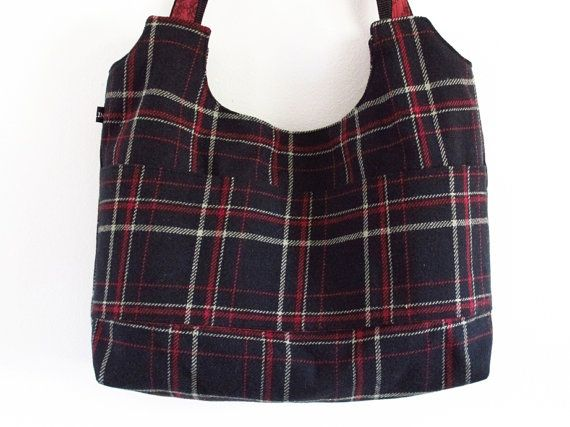 Black red and yellow BEAUCATCHER tote bag shoulder by HULINbags