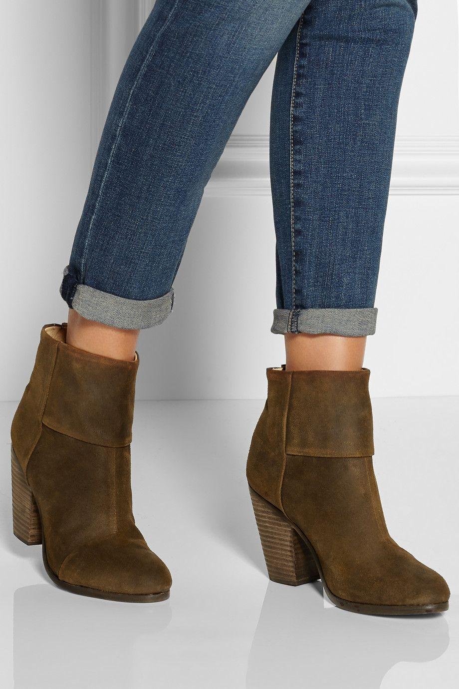 discount big sale discount sast Rag & Bone Suede Newbury Ankle Boots bMX3yc8