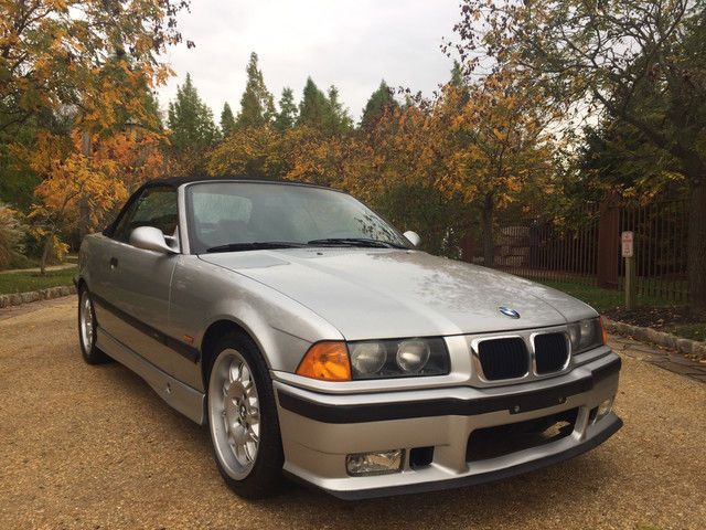 Awesome Great 1999 BMW M3 Base Convertible 2Door E36 free