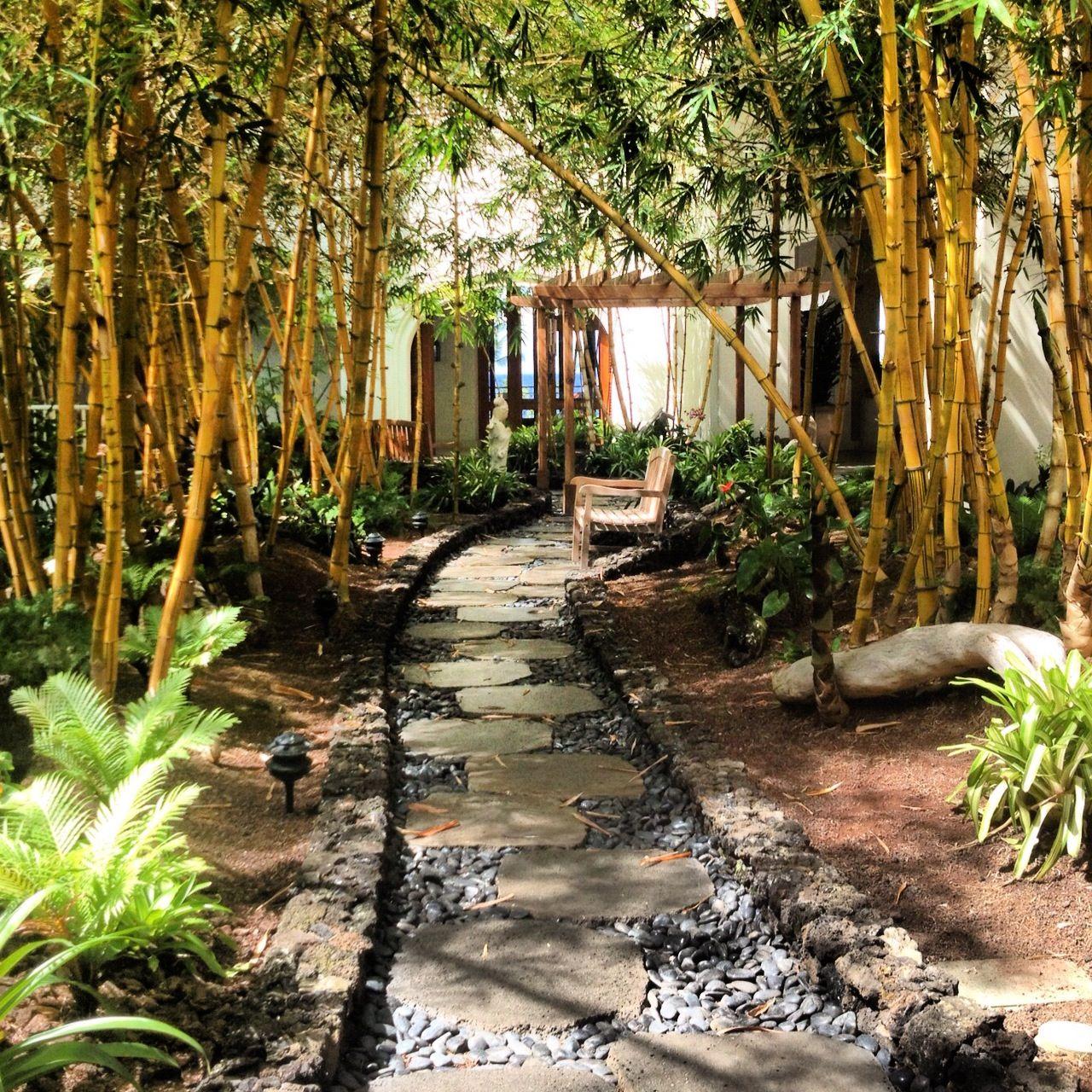 Bamboo garden at the Fairmont Kea Lani Maui. Book through us for ...