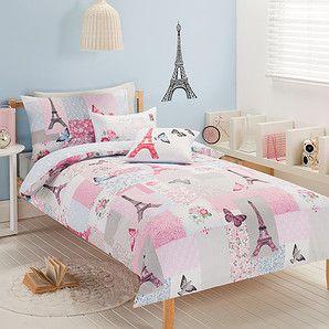 Parisienne Fleur Quilt Cover Set In 2020 Duvet Bedding