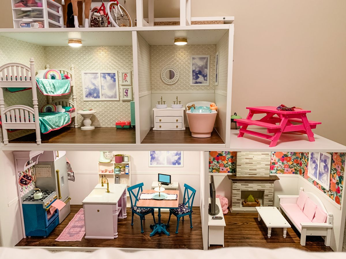 IKEA dollhouse hack