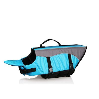 DOG LIFE JACKET PET SAFETY VEST PRESERVER XS SMALL MEDIUM EXTRA LARGE PUPPY - EXCLUSIVE DEAL! BUY NOW ONLY $22.99