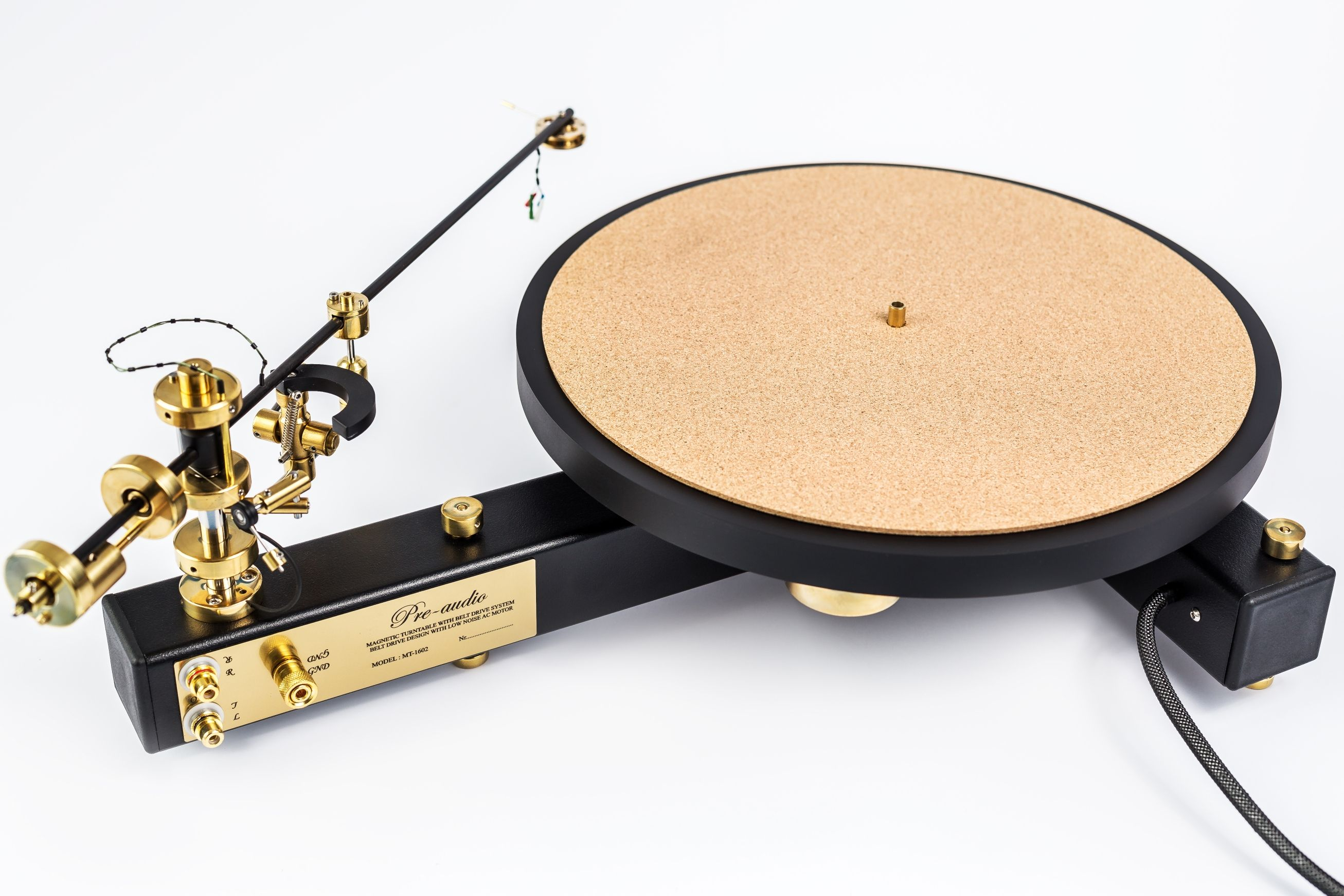 Gramophone Classic Mt 1602 Tonearm 12 Pre Audio Hifi Turntable High End Turntables Turntable