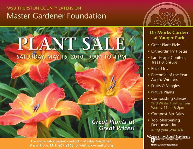 39a1c18960b6074c44bf4e6bd1bf2a38 - Washington County Master Gardeners Plant Sale