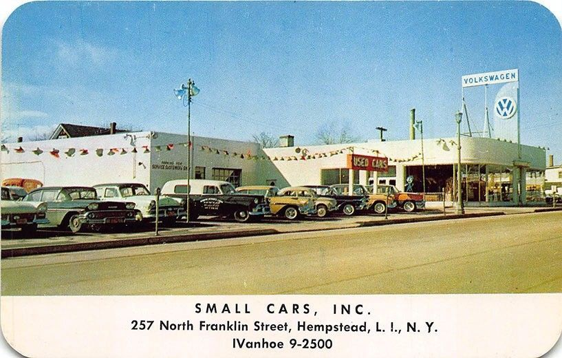Small Cars, Inc., Volkswagen Dealership, Hempstead, Long