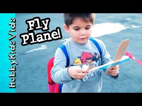 Hobbypig Flies Wood Airplane Fun Toy Hobby Arts And Crafts By Hobbykids Arts And Crafts For Kids Wood Airplane Cool Toys