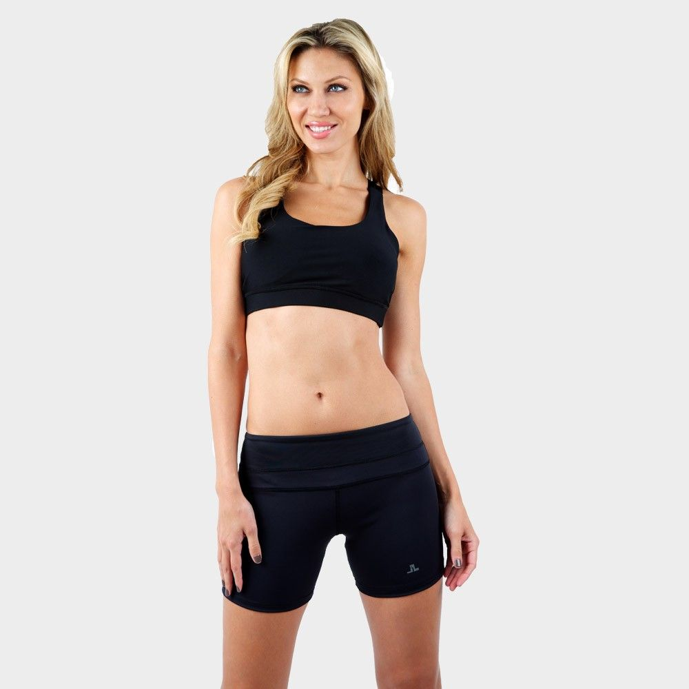 Flexible, comfortable and strong, the JL Sports Bra is a stylish and supportive addition to your fitness wardrobe. Made of light
