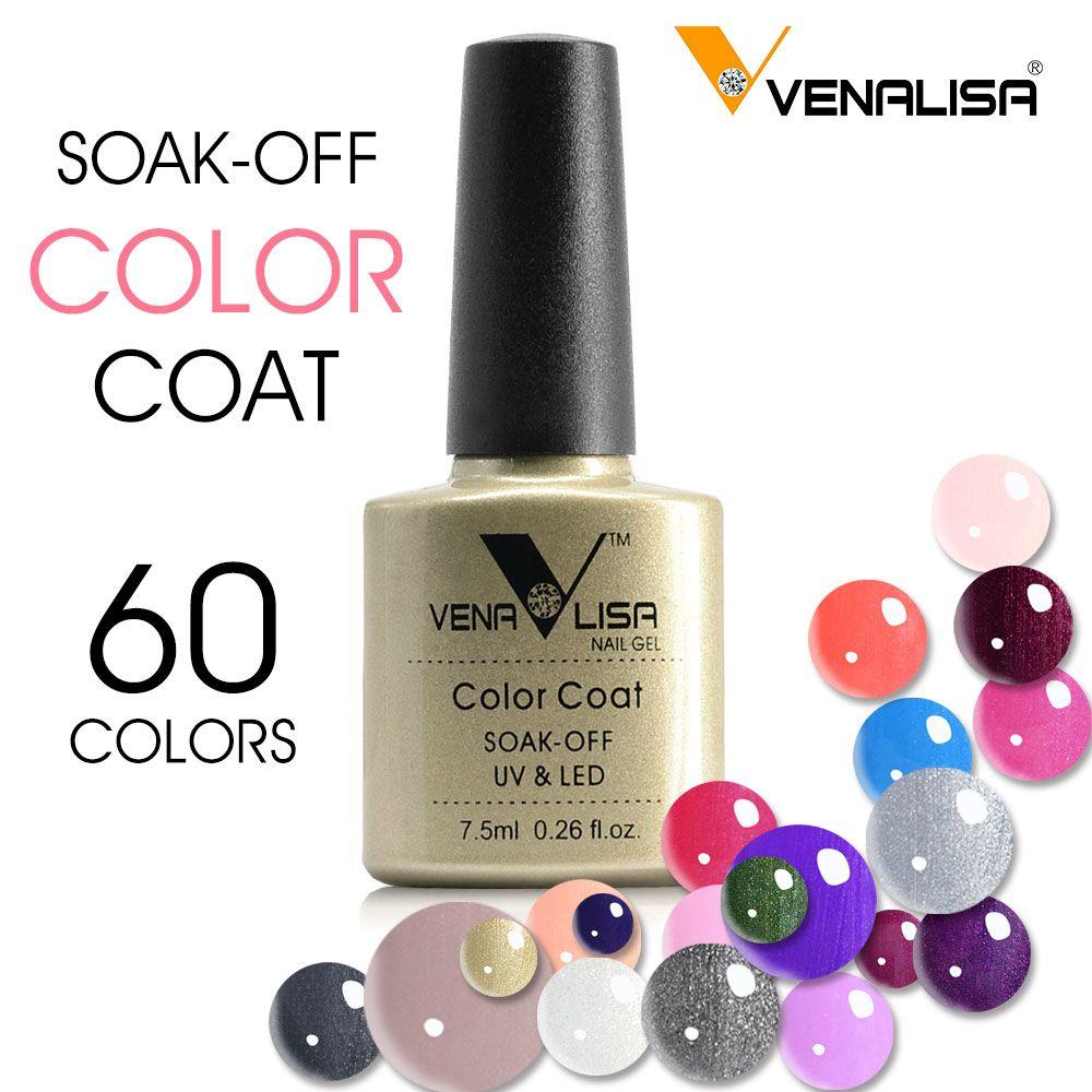 61508 Venalisa Nagel Gel Liefern 60 Neue Farben Gel-Lack Soak Off UV ...
