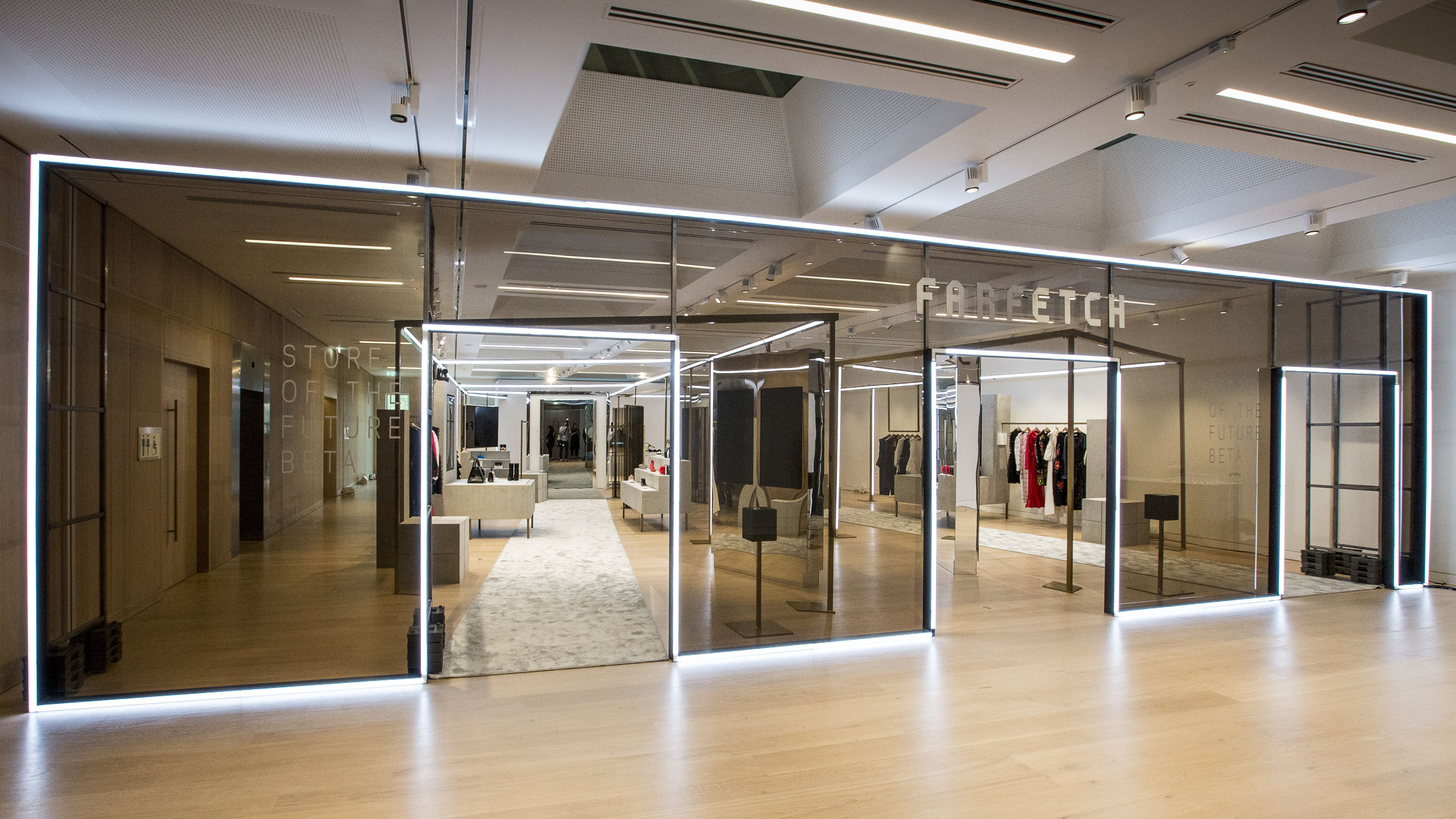 A fantastical new world of high tech high concept stores is
