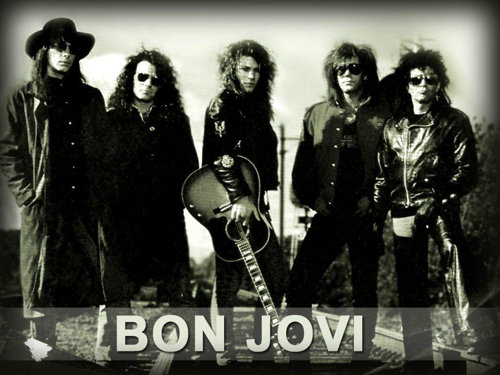 Bon jovi u always bon jovi big hair bands and s