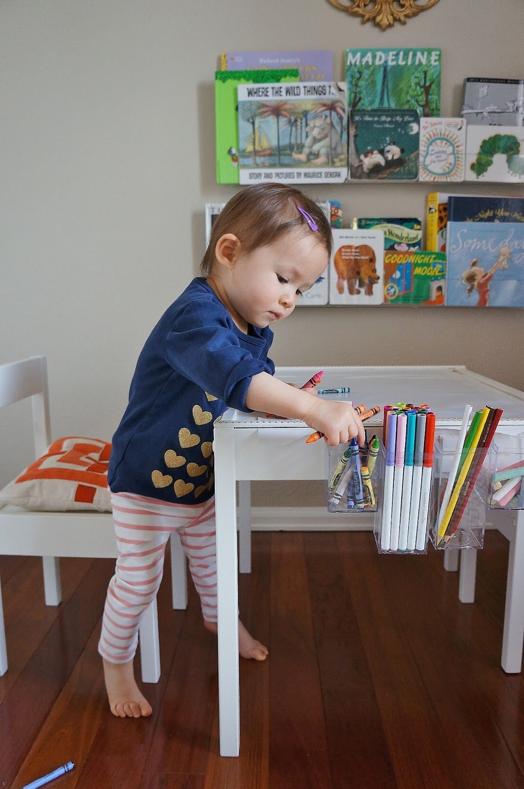 Child table and chairs ikea - Freckles Chick Quinn S Art Table An Ikea Latt Hack Love This Ikea Hack Art Table For Toddlers Plus This Table And Chair Set Is So Cheap I Can Get A